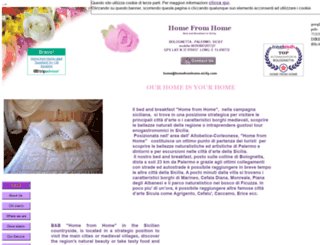 homefromhome-sicily.com screenshot