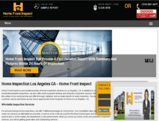 homefrontinspect.com screenshot