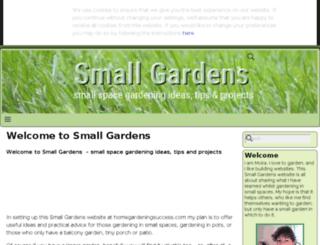 homegardeningsuccess.com screenshot