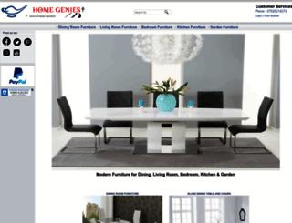 homegenies.co.uk screenshot