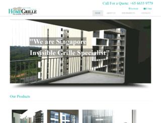 homegrille.com.sg screenshot