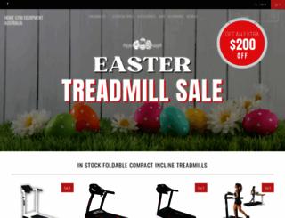 homegymequipment.com.au screenshot