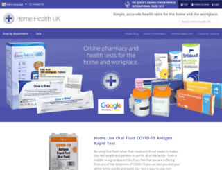 homehealth-uk.com screenshot