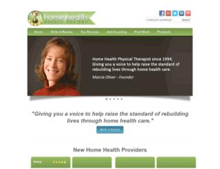 homehealthagencyreviews.com screenshot
