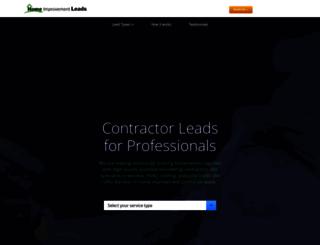 homeimprovementleads.com screenshot