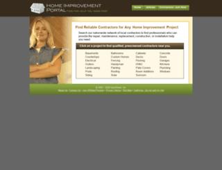 homeimprovementportal.com screenshot