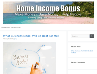 homeincomebonus.com screenshot