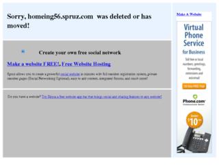 homeing56.spruz.com screenshot