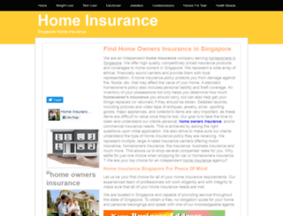 homeinsurance.insingaporelocal.com screenshot