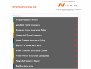 homeinsurancepolicy.club screenshot