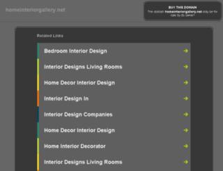 homeinteriorgallery.net screenshot