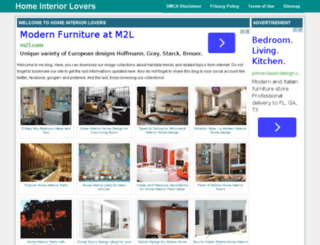 homeinteriorlovers.com screenshot
