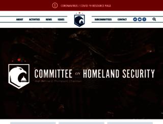 homeland.house.gov screenshot