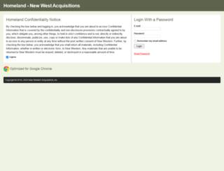 homeland.nwaoftexas.com screenshot