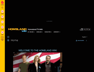 homeland.wikia.com screenshot