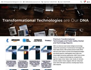 homelandsecurityresearch.com screenshot