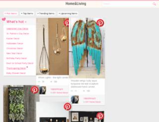 homelivingdecorideas.com screenshot