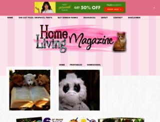 homelivingmagazine.com screenshot