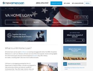 homeloansforva.com screenshot