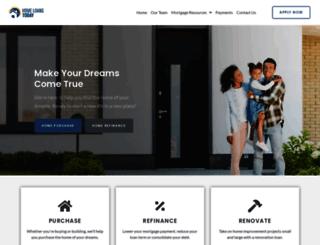 homeloanstoday.com screenshot