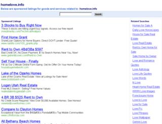 homelove.info screenshot