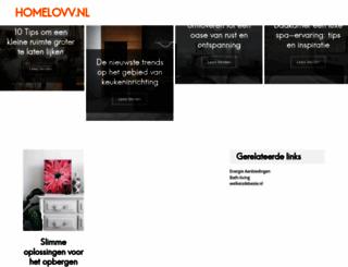 homelovv.nl screenshot
