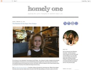 homely-one.blogspot.com screenshot
