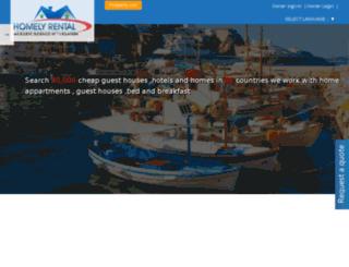 homelyrental.com screenshot