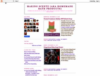 homemadebathproducts.blogspot.com screenshot