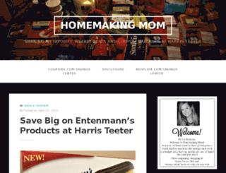 homemakingmom.com screenshot