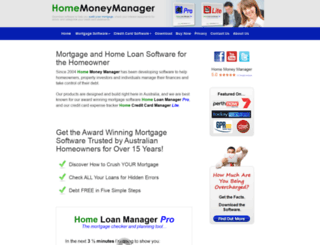 homemoneymanager.com screenshot