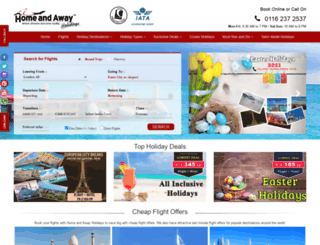 homenawayholidays.com screenshot