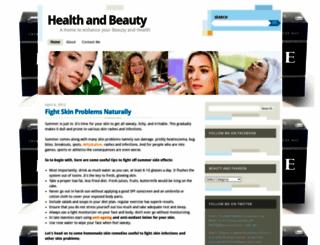 homenbeauty.wordpress.com screenshot