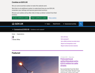homeoffice.gov.uk screenshot