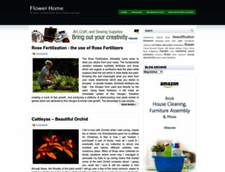 homeofflowers.blogspot.com screenshot