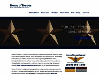 homeofheroes.com screenshot