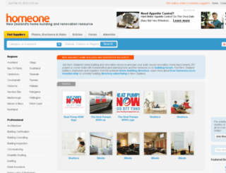 homeone.co.nz screenshot