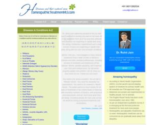 homeopathictreatment4u.com screenshot