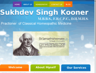 homeopathyatkoonermedicalcenter.com screenshot