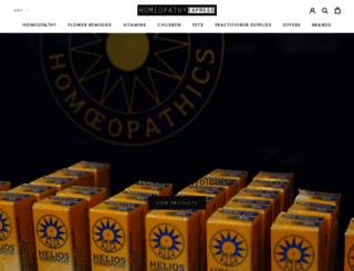 homeopathyexpress.com screenshot