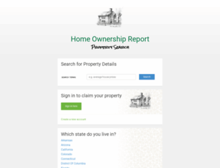 homeownershipreport.com screenshot
