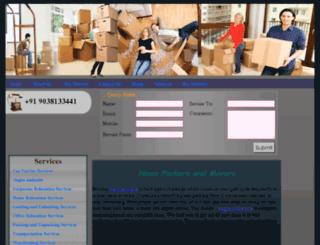 homepackersandmovers.org screenshot