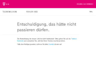homepage-creator.t-home.de screenshot