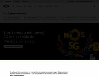 homepage.oniduo.pt screenshot