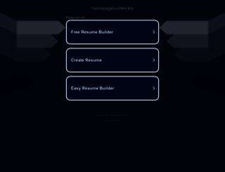 homepagebuilder.biz screenshot