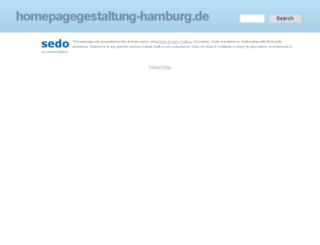 homepagegestaltung-hamburg.de screenshot