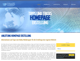 homepages-tipps.de screenshot