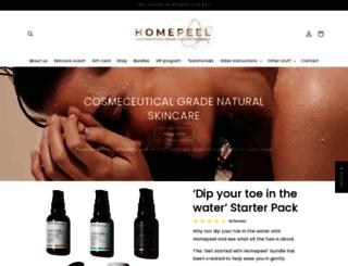 homepeel.com.au screenshot