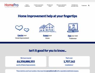 homepro.com screenshot