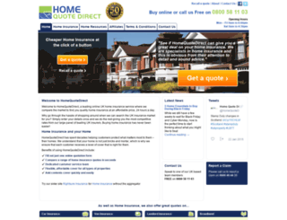 homequotedirect.co.uk screenshot